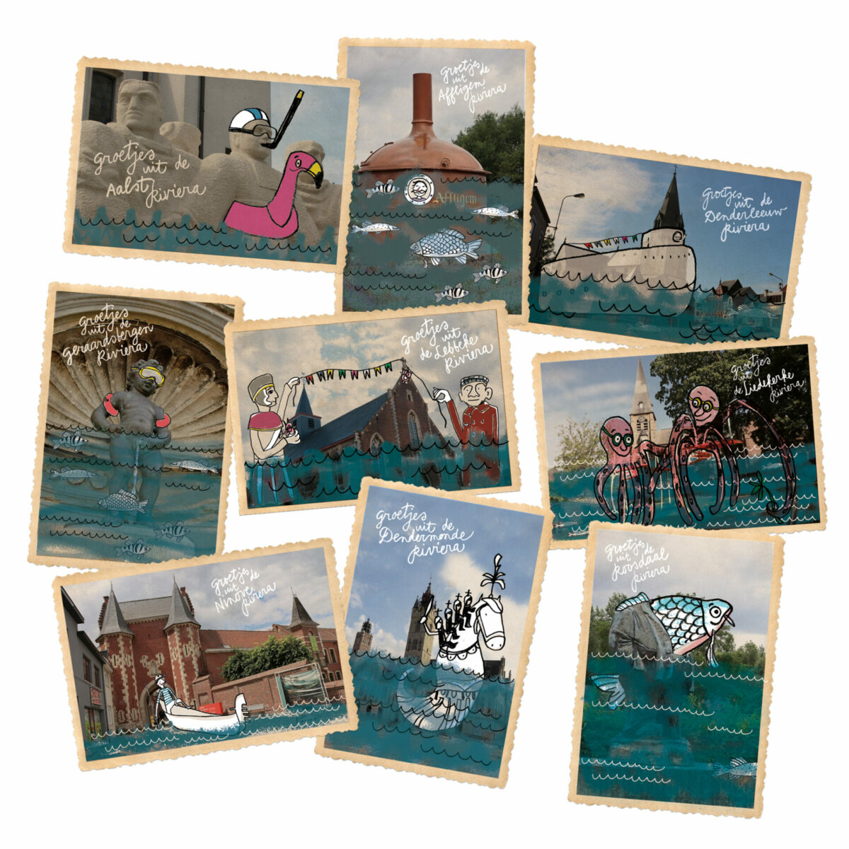 Postkaarten_Ruimte voor Water
